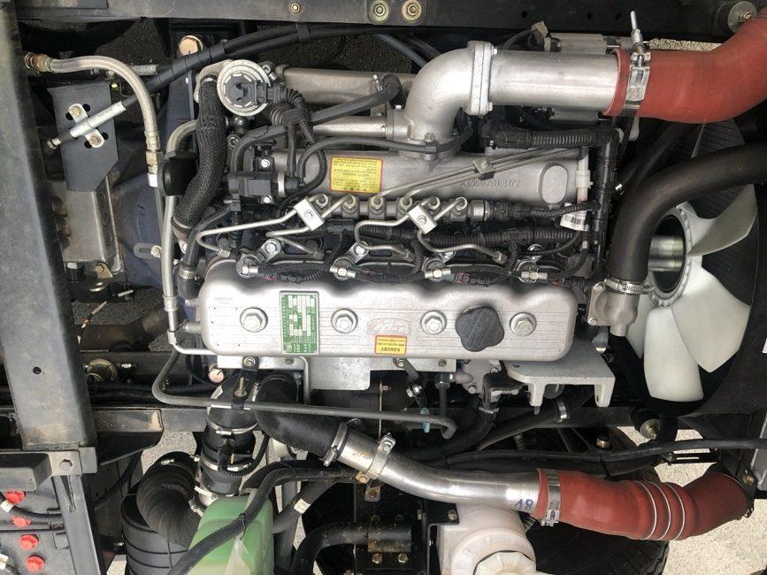Động cơ xe ben 6t5 2 cầu
